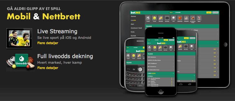 bet365 app – moro på farten