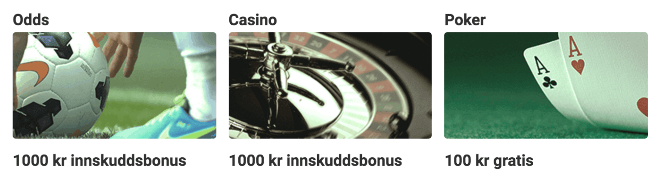 Unibet bonuskode og bonusser
