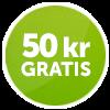 50 kr gratis ComeOn