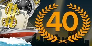 Mobil6000 bonus 40 freespins