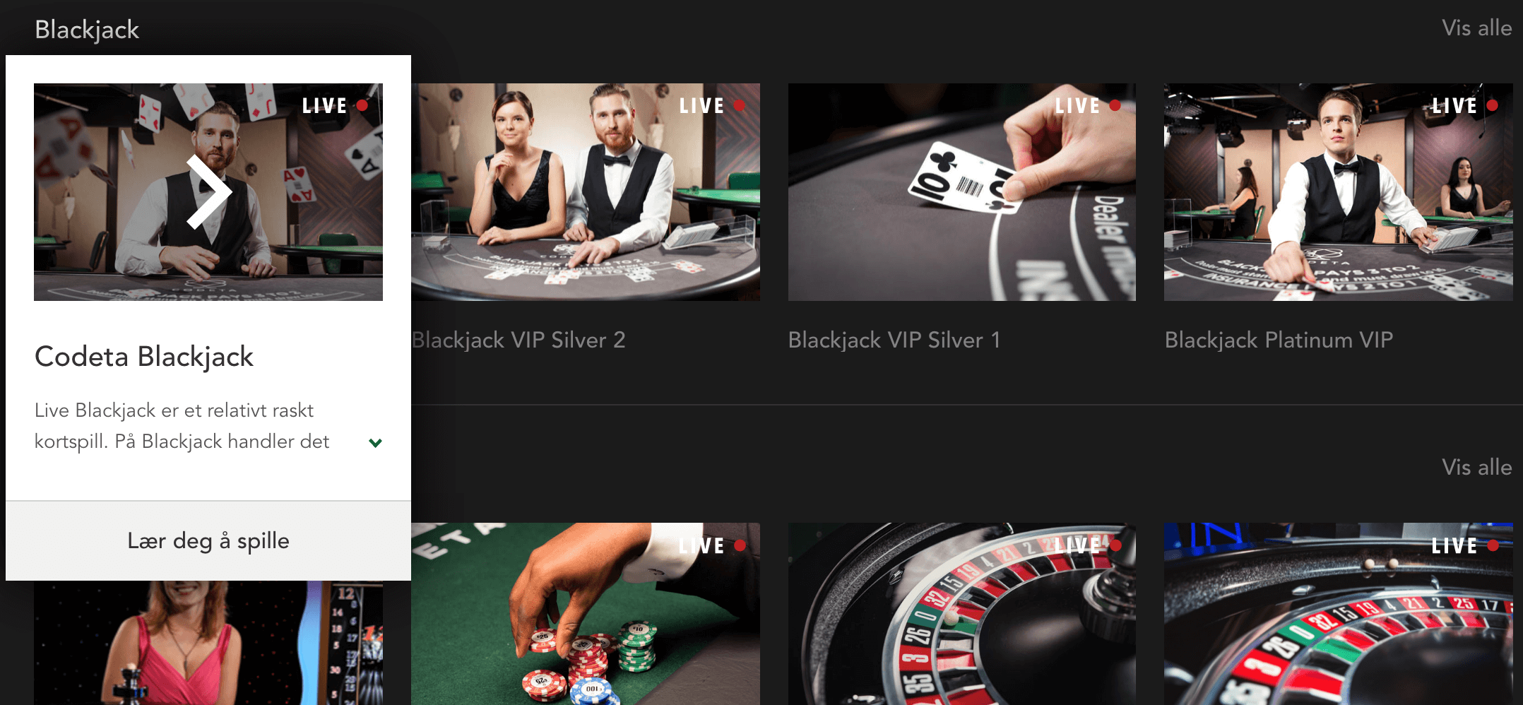 casino sitt eget spill