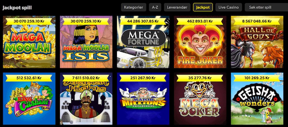 Rizk Casino jackpot