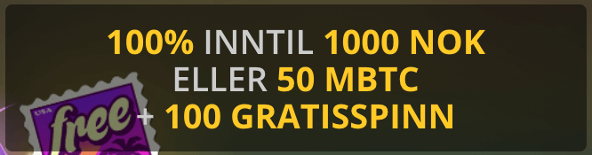Golden Star Casino velkomstbonus