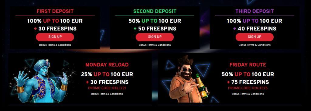 N1 Casino freespins